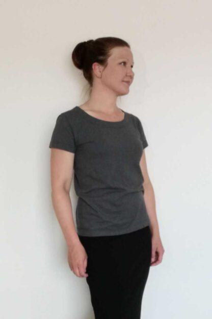 naisten lyhythihainen paita